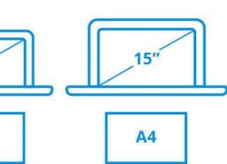 hoeveel inch is mijn laptop