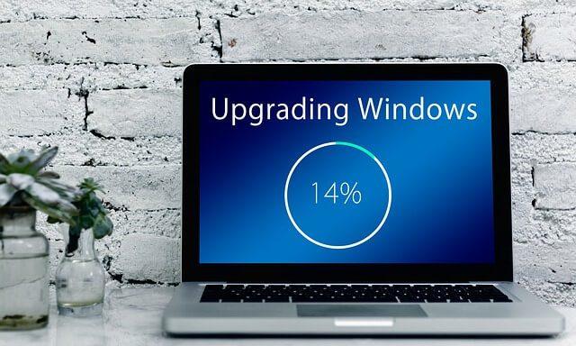 Computer wil niet updaten